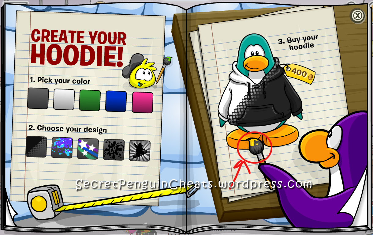 how to get a mining helmet on club penguin