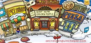 club penguin, secret entrance to the underground, penguin underground entrace