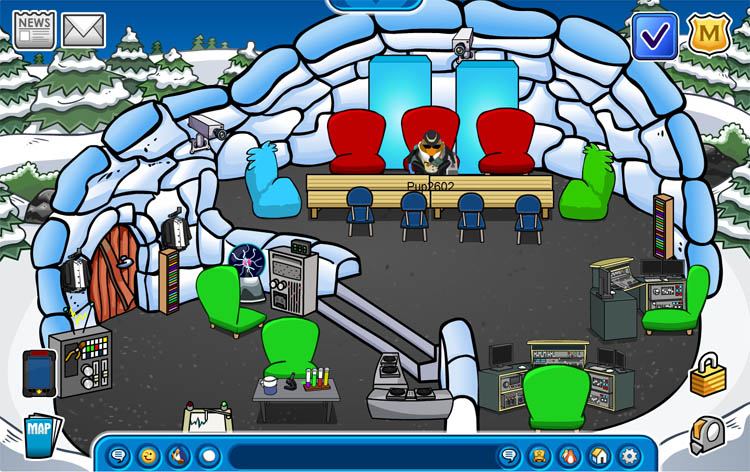 club penguin spy igloo | secretpenguincheats